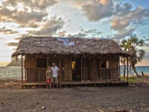 Our home on Nosy Mitsio!